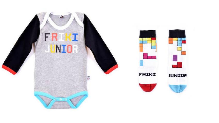 Colección de ropa para bebés de Padres Frikis