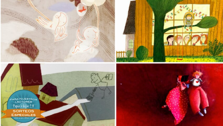Sorteo de San Valentín de un libro infantil