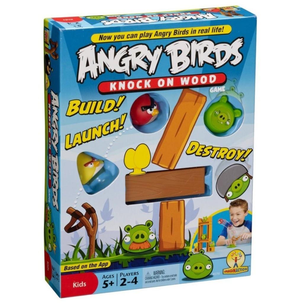 juego de mesa de angry birds Angry Birds Knock on Wood