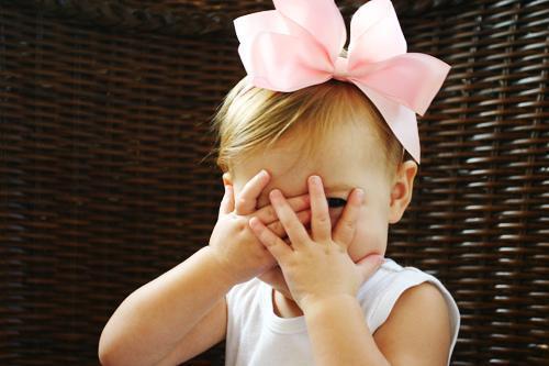 niña tímida