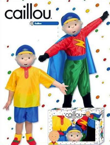 Disfraz Caillou