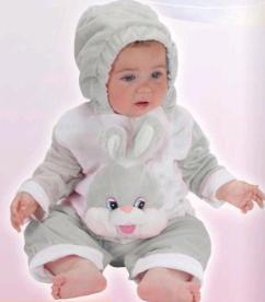 Disfraz bebé Conejito