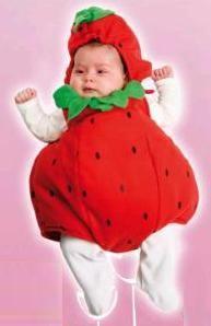 Disfraz bebé Fresita