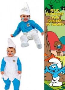Disfraz Pitufos para bebés