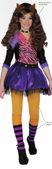 nuevo disfraz de clowdeen wolf