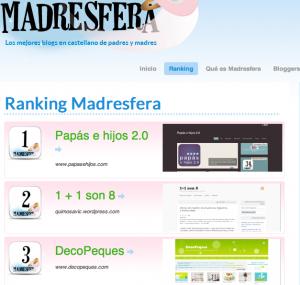 Madresfera Ranking