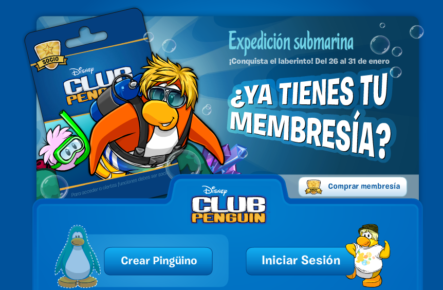 Registrarte Club Penguin