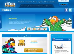 Zona Padres Club Penguin