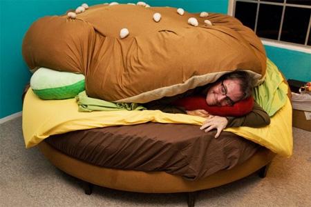 cama hamburgesa