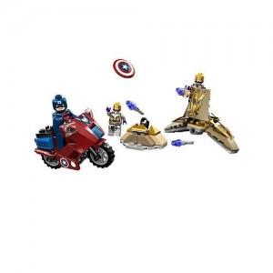 Moto del Capitán América LEGO