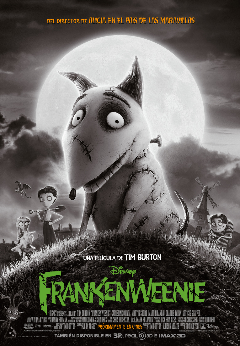 FRANKENWEENIE película de Tim Burton