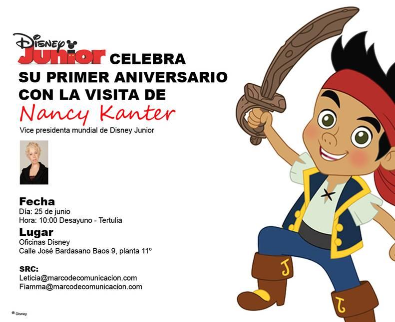 Disney junior celebra su primer aniversario for Oficinas disney madrid
