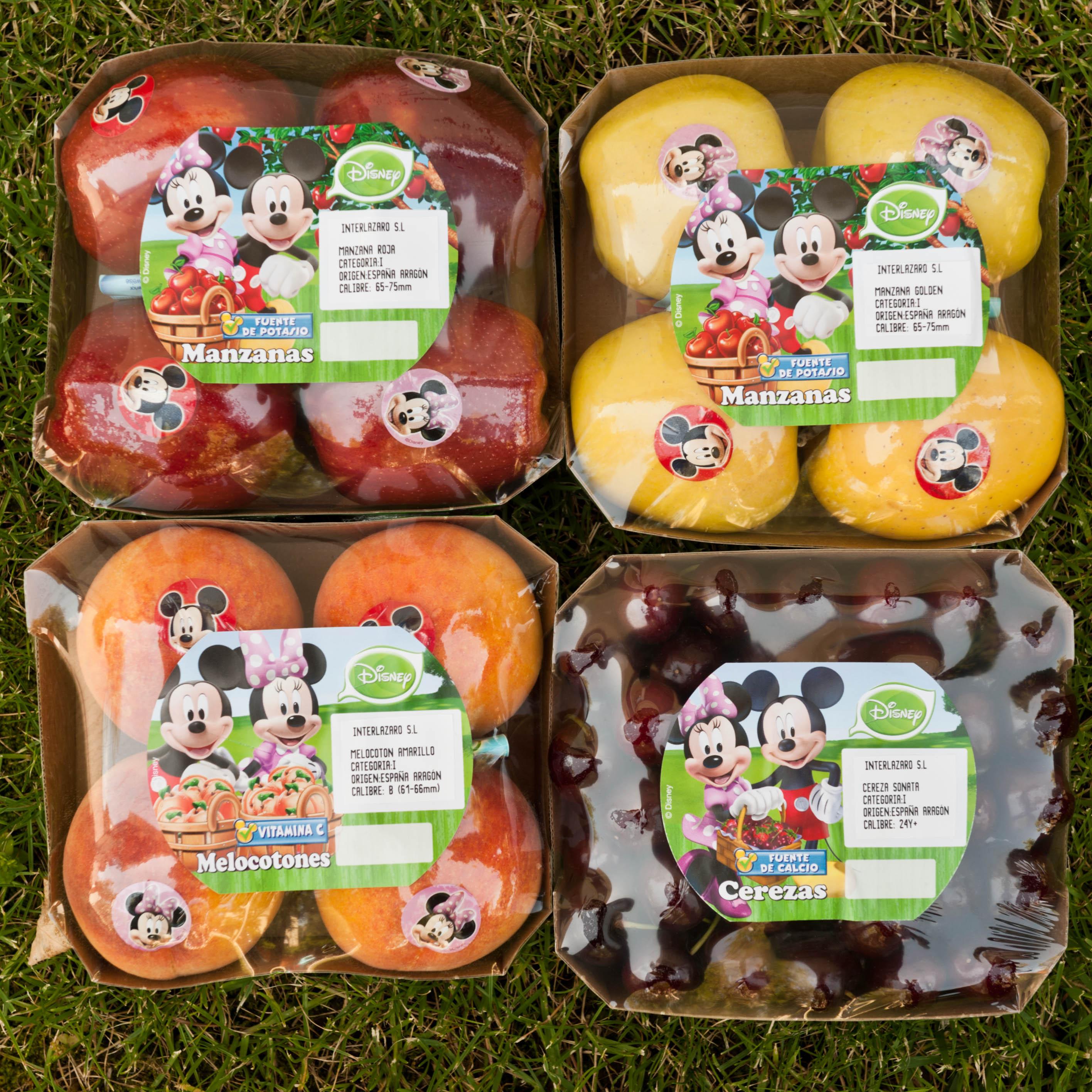 Fruta con sorpresa de Disney y Frutas Lázaro