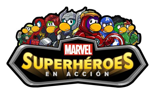 Los superhéroes de Marvel se unen al Club Penguin