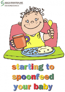 Starting to spoonfeed your baby