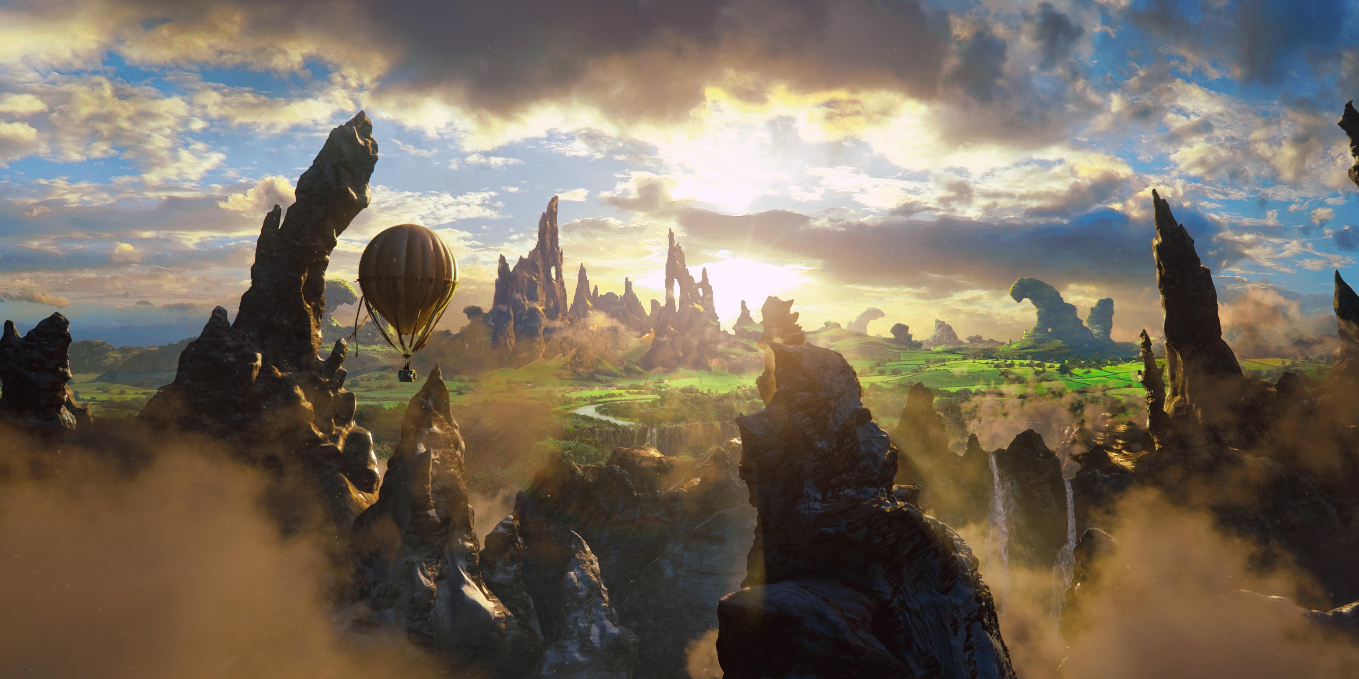 """""""Oz, un mundo de fantasía"""" película de niños de Disney"""