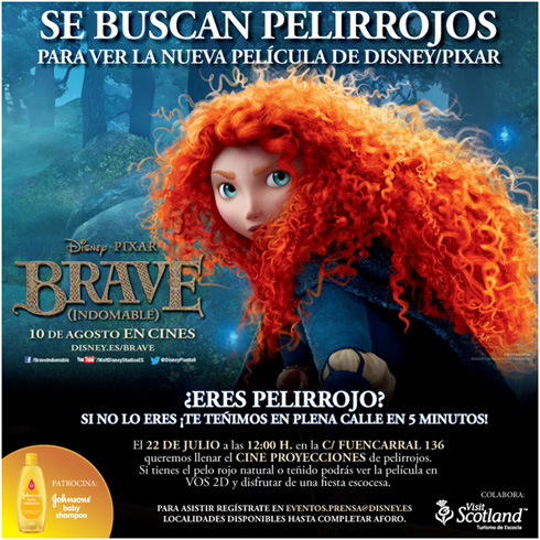 Brave Indomable Disney