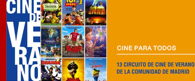 Cine de verano peliculas niños