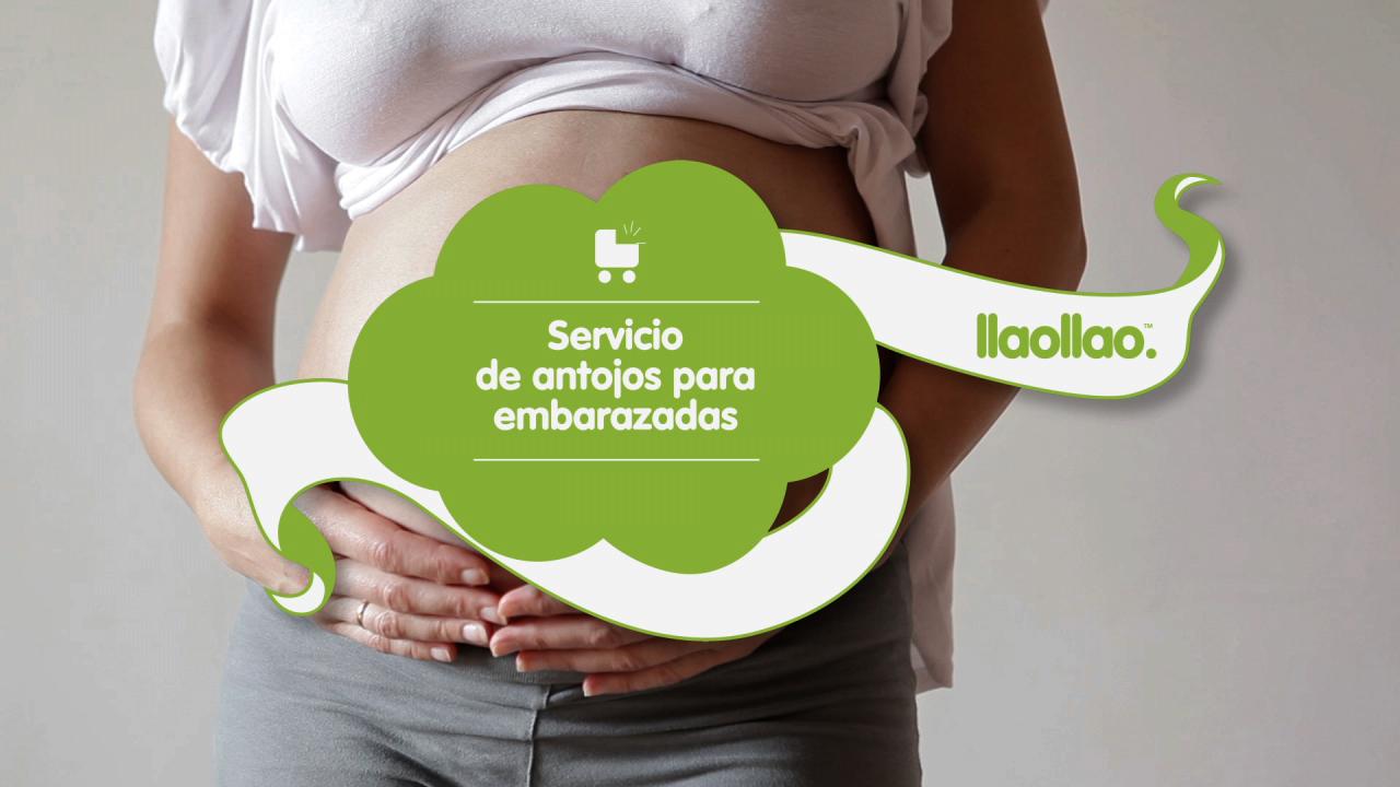 llaollao servicio de antojo embarazadas