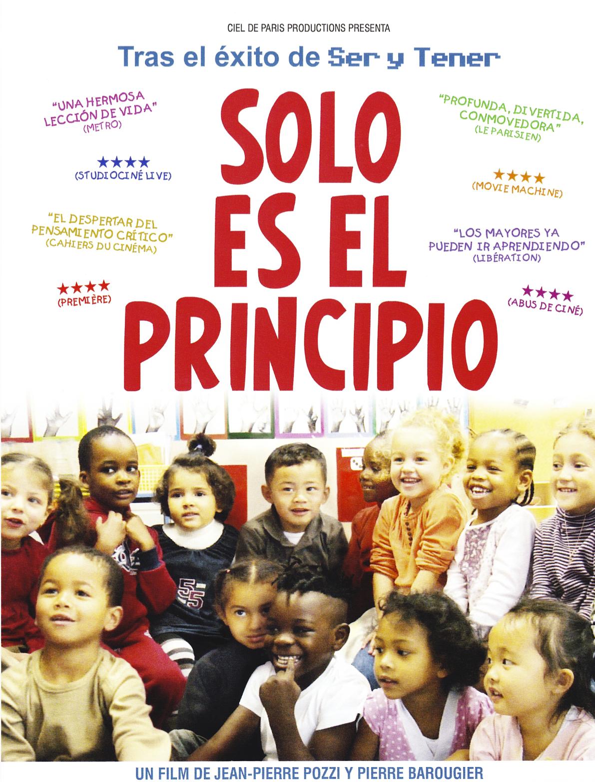 SOLO ES EL PRINCIPIO Ce n'est qu'un début dirigida por Jean-Pierre Pozzi y Pierre Barougier