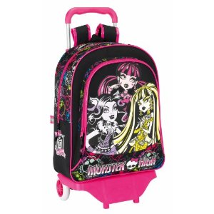 mochila ruedas monster high
