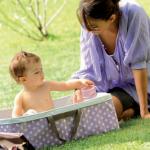 Viajar con un bebé, artículos útiles