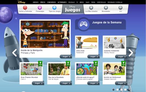 Disney juegos gratis online