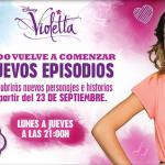 Estreno de la segunda temporada de Violetta