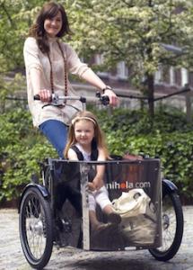 bicicletas con niños