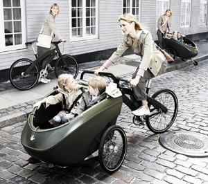 bicletas con niños
