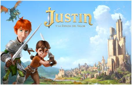 Justin y la espada del valor estrenos de cine verano 2013