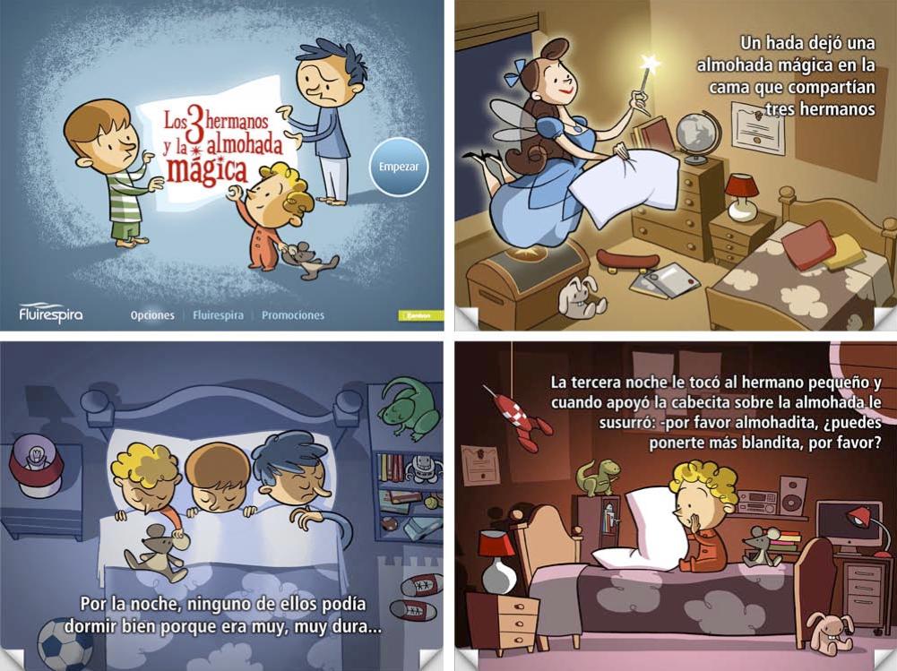 La Almohada Mágica cuento infantil interactivo