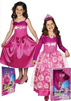 disfraz barbie princesa popstar