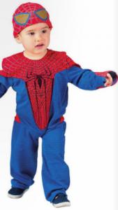 disfraz bebé spiderman