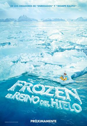"""el cartel de """"FROZEN. EL REINO DEL HIELO"""""""