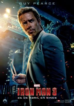 "GUY PEARCE como  ""ALDRICH KILLIAN"" Iron Man 3"