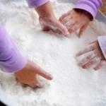Nieve casera, cómo hacer nieve casera