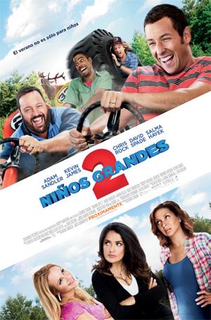 niños grandes 2 la película