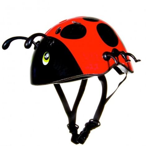 cascos divertidos mariquita