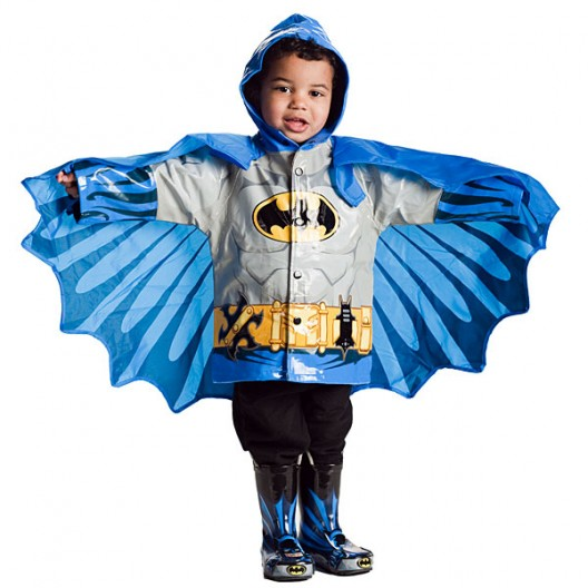 chubasquero superheroe batman