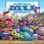 Nuevo cartel de la película de Disney Pixar Monstruos University