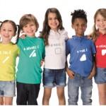 Ropa para niños y padres con daltonismo