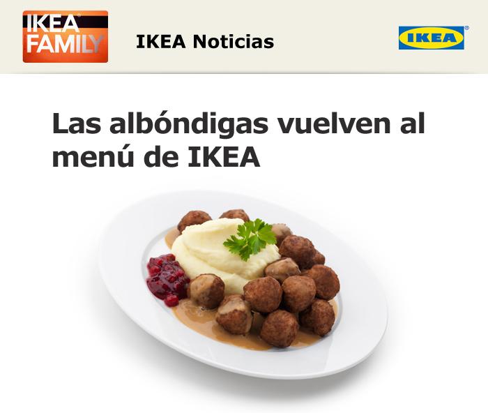 Albondigas de Ikea