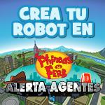 crear un robot con alerta agentes juego online de Phineas y Ferb