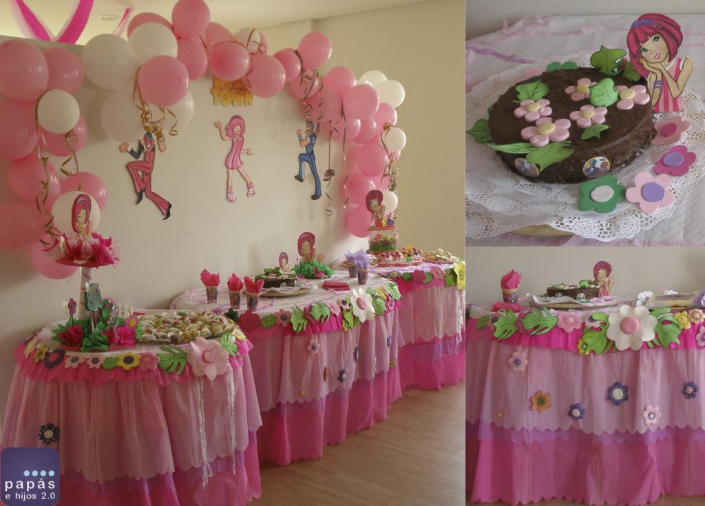 decoración de cumpleaños de Lazy Town