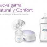 Nueva gama extractores Confort y biberones Natural de Philips AVENT