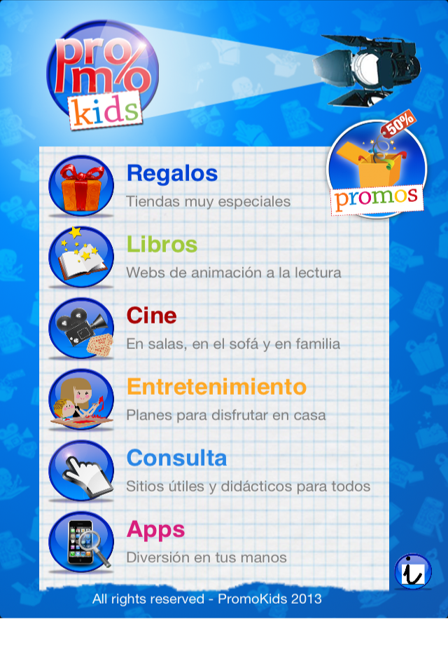 promokids categorias
