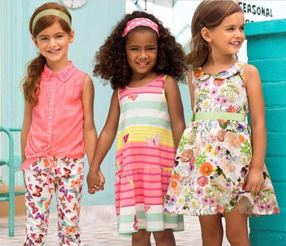 vestidos verano niñas de H&M