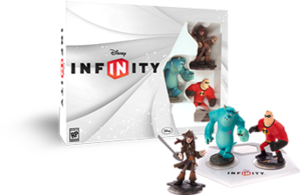 PACK INICIAL Disney Infinity con Sulley, Jack Sparrot y Mr Increibie