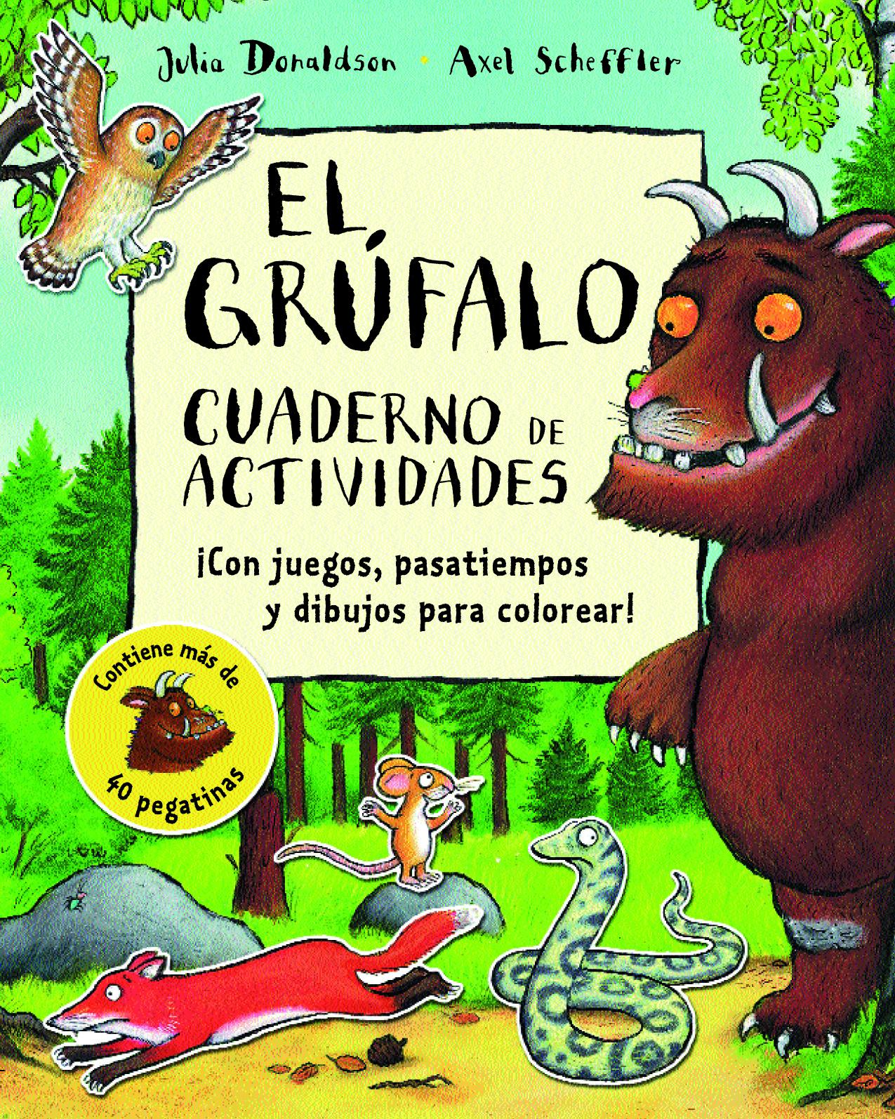El Grufalo cuaderno